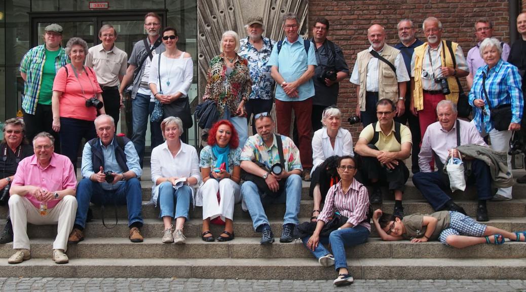 Gruppenaufnahme.in Köln